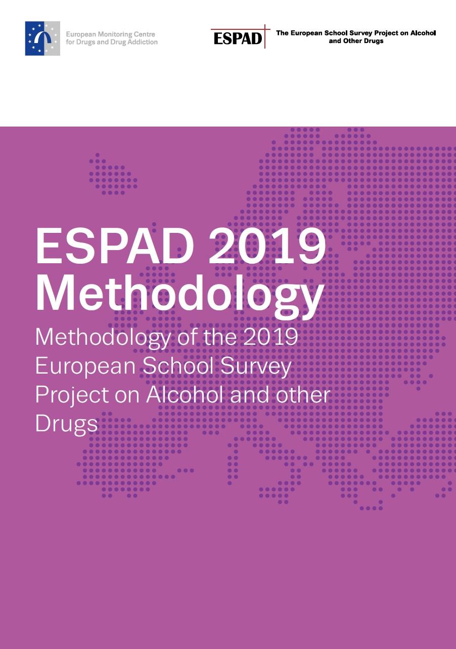 espad 2019 methodology cover